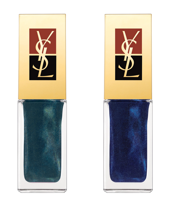 YSL-fall-7 Najaarscollectie 2011: Yves Saint Laurent Midnight Garden