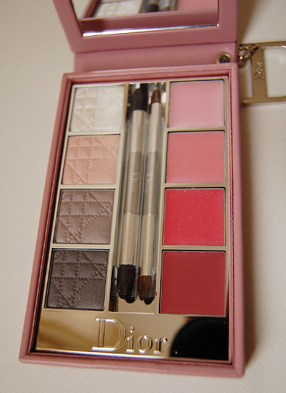 Palette_rose Dior Rose collection for eyes&lips