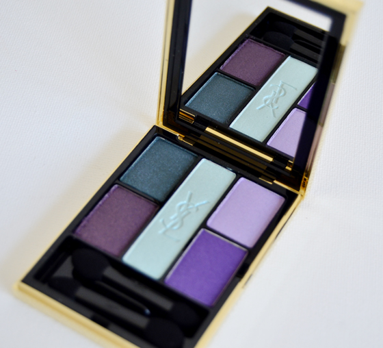 YSL-PALLET Yves Saint Laurent OMBRE 5 LUMIÈRES midnight garden