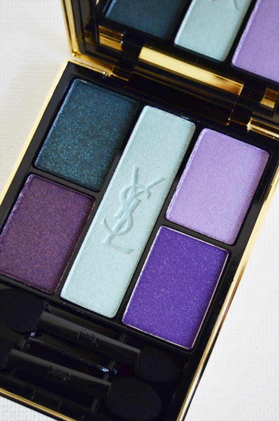 YSL_pallet_ Yves Saint Laurent OMBRE 5 LUMIÈRES midnight garden