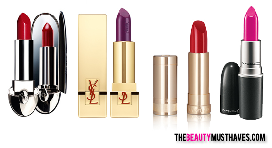 lippenstiften_Luxemerken The Beauty Musthaves: Knallende lippenstift kleuren!