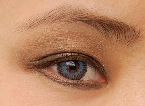 oog Dior Blue Tie herfstcollectie 2011