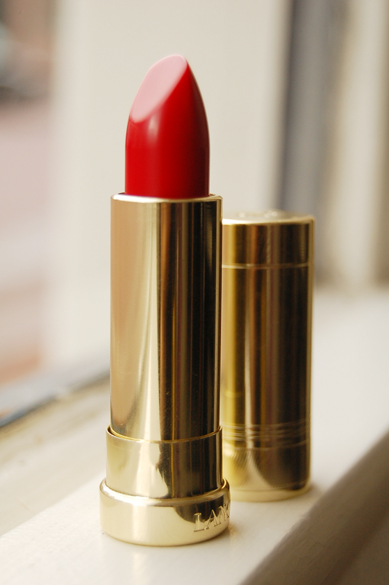 red_lipstick_lancome Lancome 29, Saint Honoré make-up collectie herfst 2011