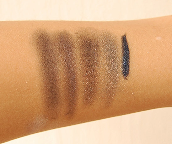 swatches_blue_smokey_palette Musthaves: Dior Blue-tie Blue & Blanc smoking