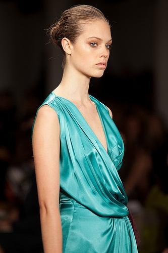650 AVEDA show de nieuwe haarstijlen  SPRING/SUMMER 2012 in de New York Fashion Week