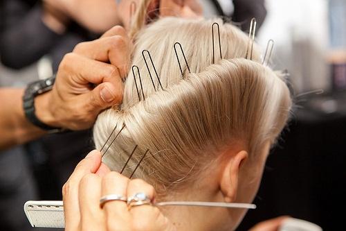 6781 AVEDA show de nieuwe haarstijlen  SPRING/SUMMER 2012 in de New York Fashion Week