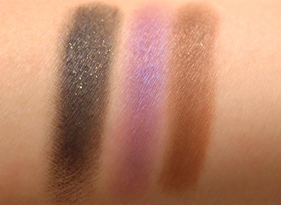 black_up_swatches_eyeshadow Make-up voor een getinte huid: Black-Up