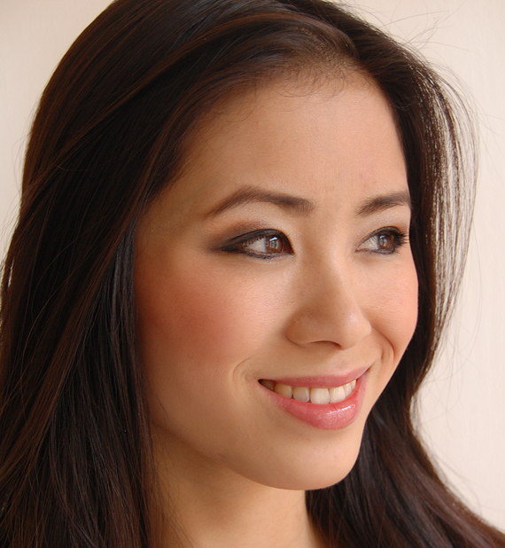 close-up-look-My-Huong Make-up look: Uitgaanslook