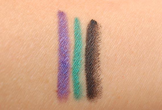 oogpotlood_swatches Make-up voor een getinte huid: Black-Up