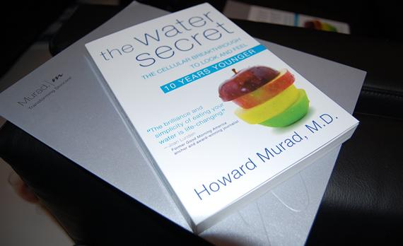Dr_murad_the_Water_secret EVENT: Dr. Murad in Amsterdam