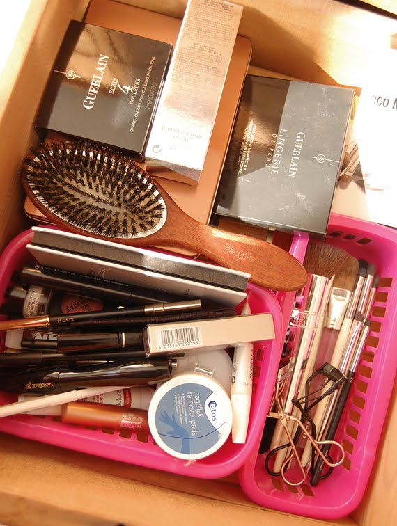 dagelijkse-gebruik-stash Make-up stash reorganiseren