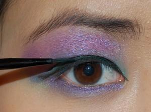 eyeliner_penseel27--300x223 HowTo? Purple rain look met Make-up Studio