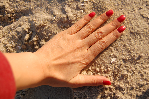 nails Look of today: The red panther