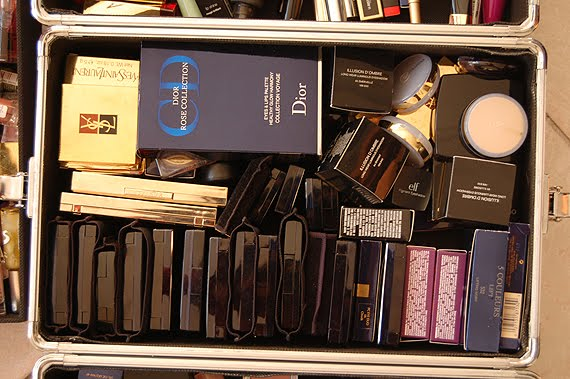 stash-oogschaduw-dior-chanel-ysl Make-up stash reorganiseren