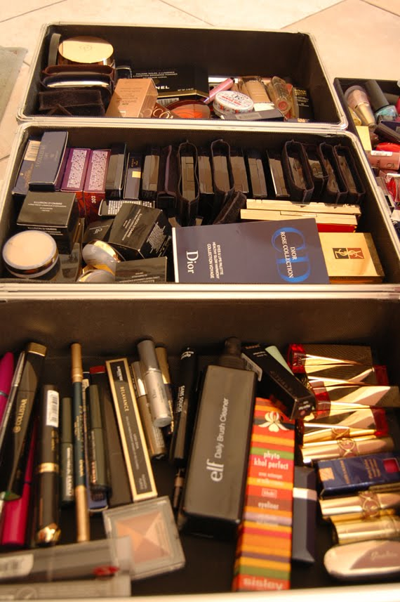 stash-reorganiseren Make-up stash reorganiseren