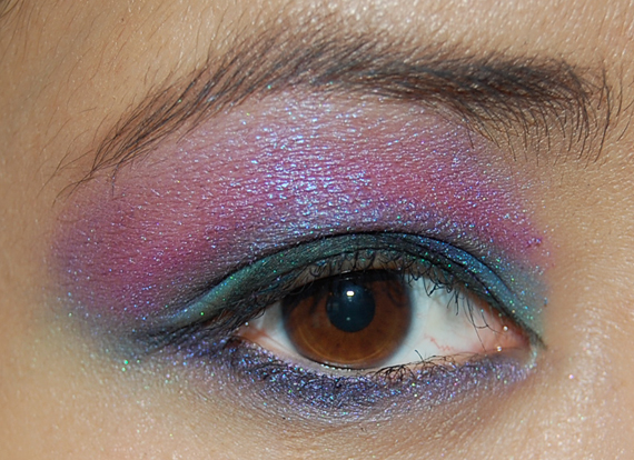 total-look-make-up-studio HowTo? Purple rain look met Make-up Studio