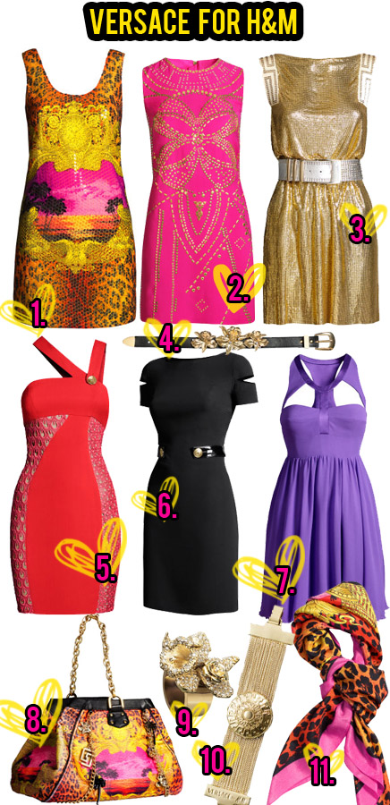 HM-versace Versace for H&M : My Choice