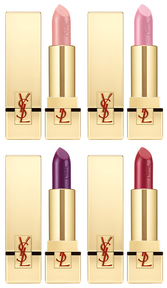 YSL-Rouge-pur-couture-in-4-nieuwe-kleuren-Rouge-d-25C3-25A9esse-252C-Rose-aphrodite-252C-Pourpre-divine-en-Rouge-eros-EUR-29-252C75 Yves Saint Laurent Tuxedo Holiday Look 2011