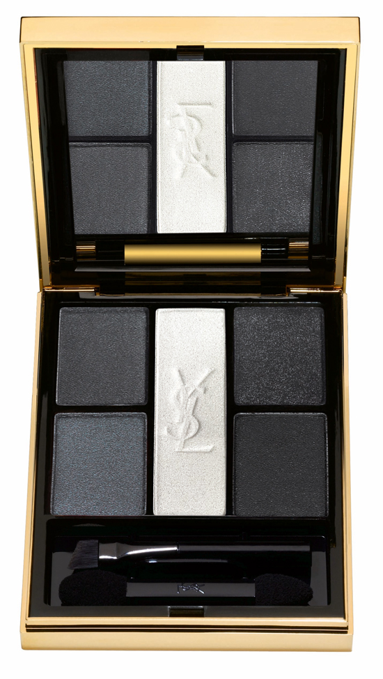 YSL_Palette-Noir-Terriblement Yves Saint Laurent Tuxedo Holiday Look 2011