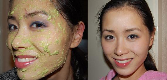 advocado-masker DIY: Avocado masker (goed voor een droge huid)