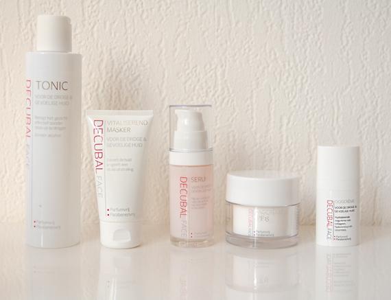 decubal-gezichts-producten- Decubal face - voor de droge hud