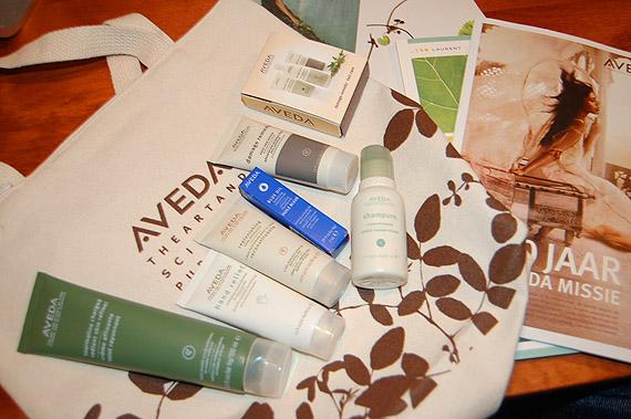goodiebag-aveda-producten EVENT: Dag van de Duurzaamheid @ AVEDA
