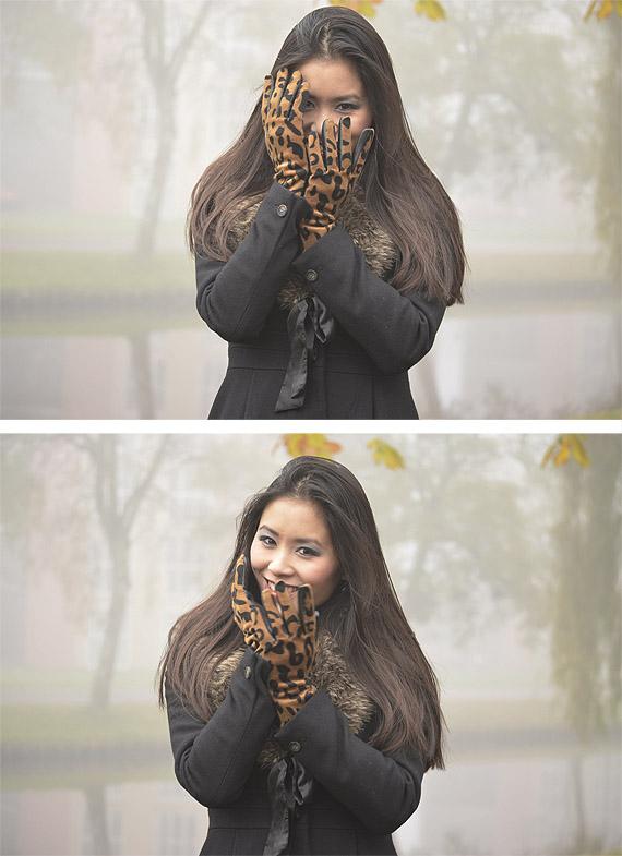 hand-gloves-hm-winter-look Winterlook chique