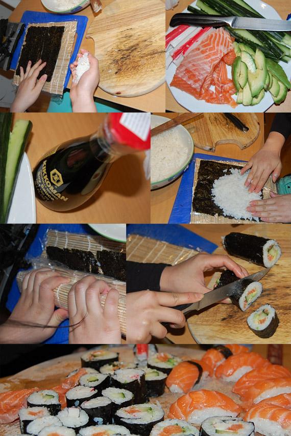 sushi-maken DIY: Sushi