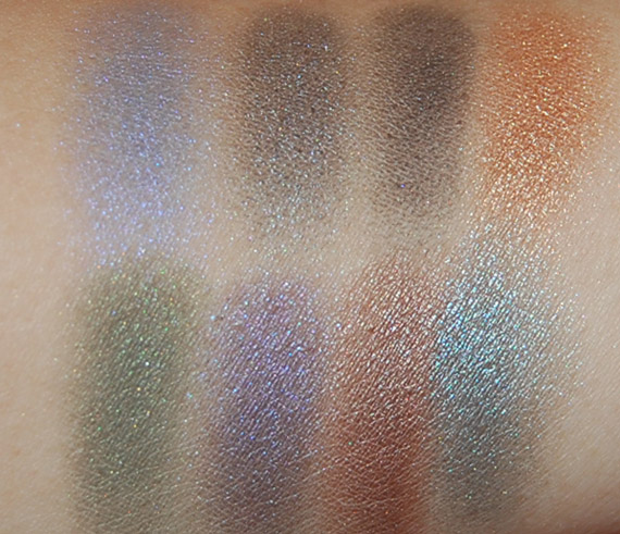 urban-decay-palette-swatches- Urban Decay - Books of Shadows IV