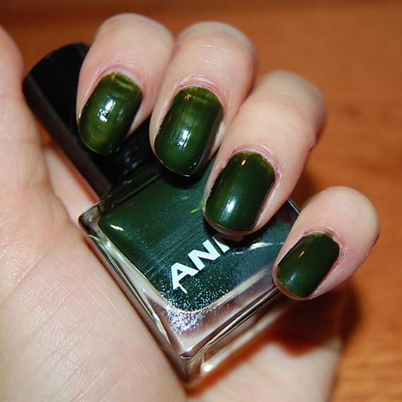 Anny-Green-mills ANNY Nagellak Swatches
