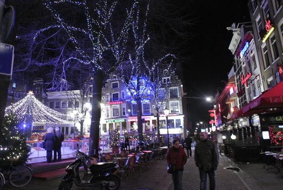 DSC0929 Kerstshoppen in Amsterdam + presentatie Aterna