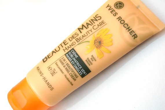 beaute-des-mains-hand-nail-creme-beauty Yves Rocher handverzorgings producten