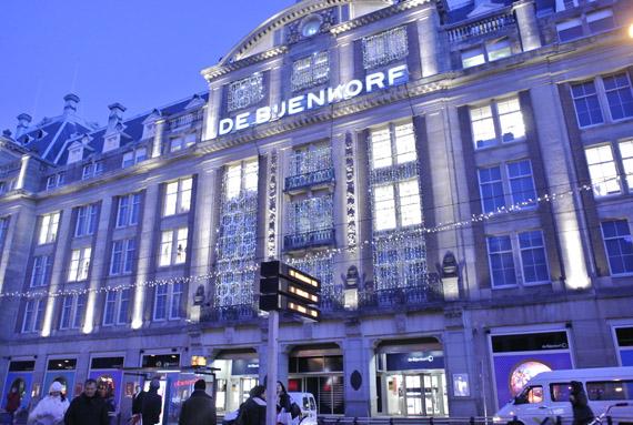 bijenkorf Kerstshoppen in Amsterdam + presentatie Aterna
