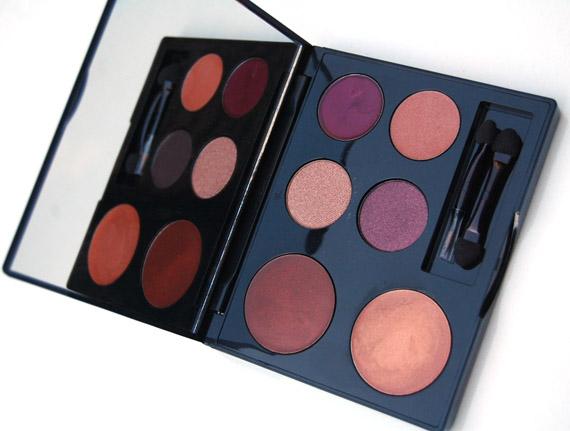 black-up-palette1 Make-up: Black Up kerstcollectie