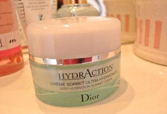 dior-hydra-action-creme Mijn wekelijkse beautytreatment