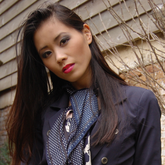 jack-army-jack-my-huong Outfit: Marine blauwe blazer + tommy boots