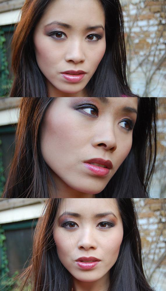 look-black-up-christmas-look-my-huong Make-up: Black Up kerstcollectie