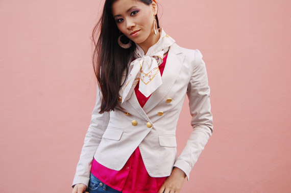 my-huong_fashion_the-beauty-musthaves Fashion: Witte blazer met gouden knoopjes