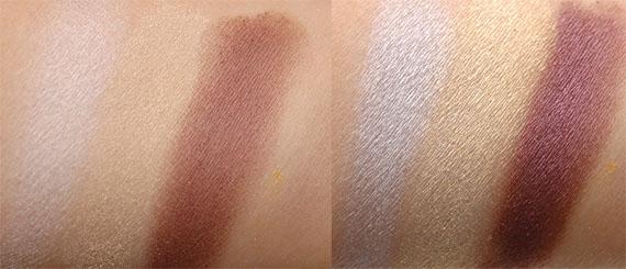 swatches-lumiere-eyeshadow Make-up Studio: feestelijke look