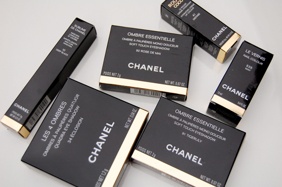 Chanel-Spring-2012-makeup Harmonie de Printemps de Chanel - lentecollectie 2012