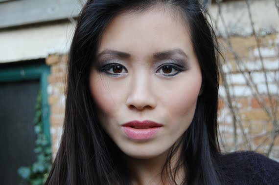 Face-of-today-eyelook-my-huong Face of the day: Glamourous with Urban Decay books of shadow IV