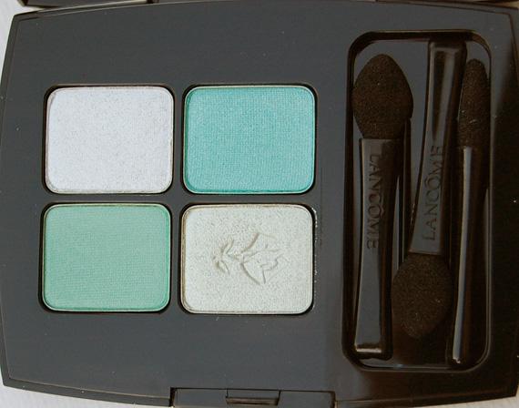 Lancome-ombres-eyeshadow-palette-spring-2012-Les-yeux-doux-Vert-tendresse Lancôme Roseraie des Délices - Lentecollectie 2012