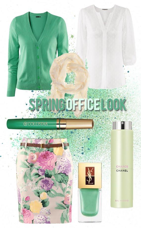 Spring-office-look-green Spring Office Look: Pastel groen!