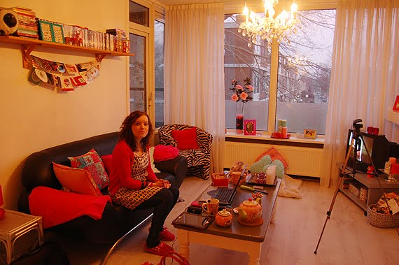 ellens-crib-ellen-van-der-weide-huis-interieur-roze MOVIE: Ellen's pink crib + shoes & fashion warderobe