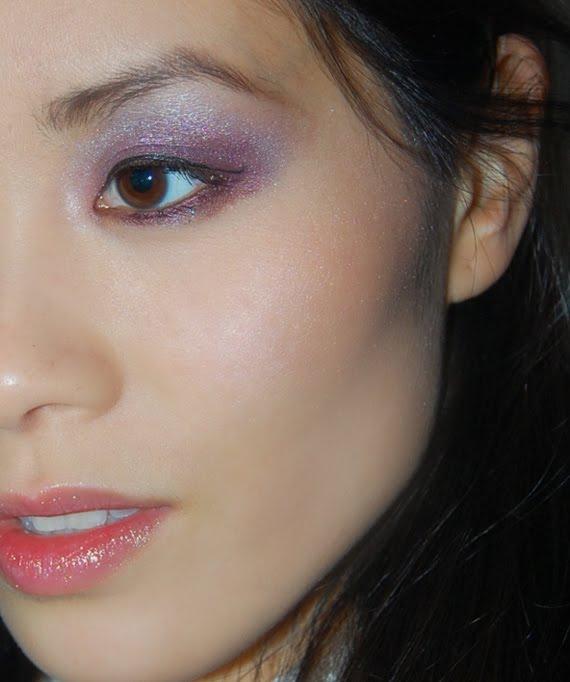 look-guerlain-spring-my-huong Guerlain Les roses et le Noir Spring 2012-  Foto's+Swatches
