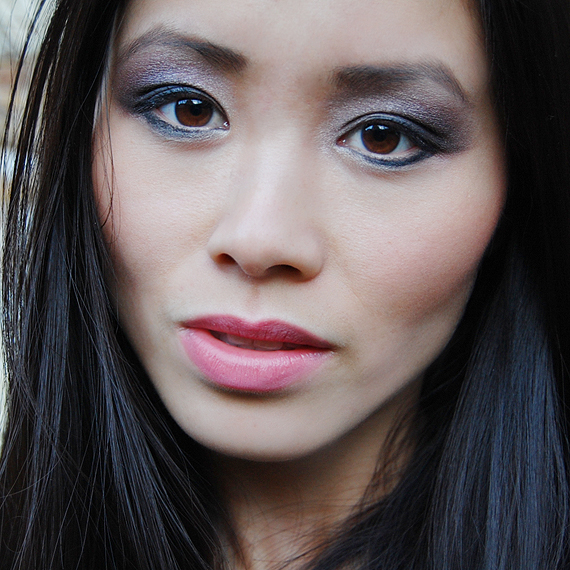 my-huong-model-the-beauty-musthaves-urban-decay-eyelook- Face of the day: Glamourous with Urban Decay books of shadow IV