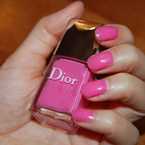 swatch-levernis-Dior-Pink-Kimono-Rose-483 Swatch: Dior Vernis Pink Kimono 483 (Rose Kimono)