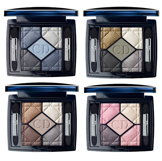Dior-New-look-5-couleurs-oogschaduwpalettes- Dior New Look collection & mascara