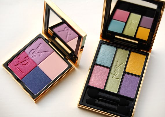 Yves-Saint-Laurent-Candy-face-palette-eyeshadow Yves Saint Laurent Candy Face Spring 2012