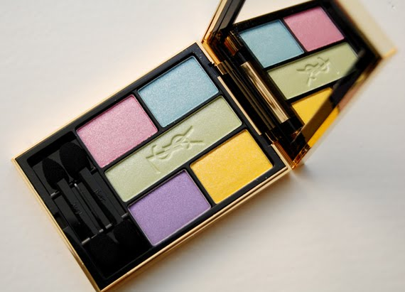 Yves-Saint-Laurent-Ombres-5-lumieres-5colour-harmony-for-eyes Yves Saint Laurent Candy Face Spring 2012